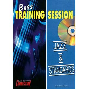 MOREL JEAN PHILIPPE - JAZZ ET STANDARDS BASS TRAINING SESSION + CD