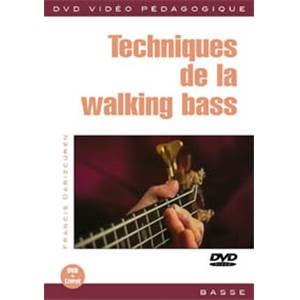 DARIZCUREN FRANCIS - DVD TECHNIQUES DE LA WALKING BASS
