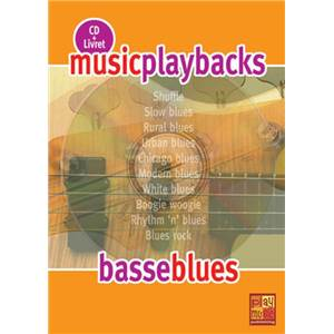 FDBAND - MUSIC PLAYBACKS BASSE BLUES + CD