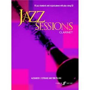COMPILATION - JAZZ SESSIONS 10 JAZZ STANDARDS CLARINET + CD
