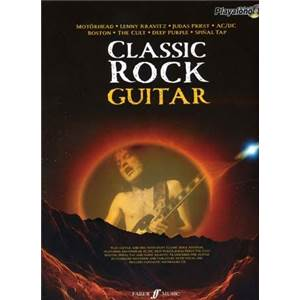 COMPILATION - AUTHENTIC PLAY ALONG CLASSIC ROCK GUITAR + CD (MOTORHEAD, AC/DC, DEEP PURPLE, BOS