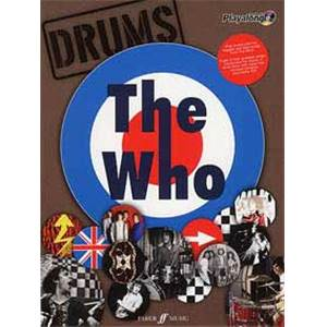 WHO THE - AUTHENTIC PLAY ALONG DRUMS + CD