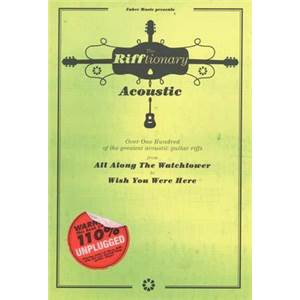 COMPILATION - RIFFTIONARY ACOUSTIC GUITAR (POCHE) 140 RIFFS