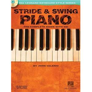 VALERIO JOHN - STRIDE AND SWING PIANO COMPLETE GUIDE + CD