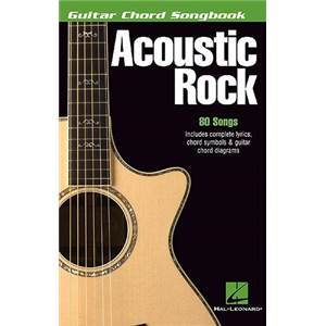 COMPILATION - GUITAR CHORD SONGBOOK: ACOUSTIC ROCK 80 SONGS