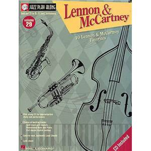 LENNON / MCCARTNEY - JAZZ PLAY ALONG VOL.029 + CD