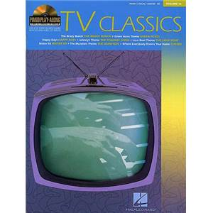 COMPILATION - PIANO PLAY ALONG VOL.016 TV CLASSICS + CD