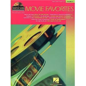 COMPILATION - PIANO PLAY ALONG VOL.017 MOVIE FAVOURITES + CD