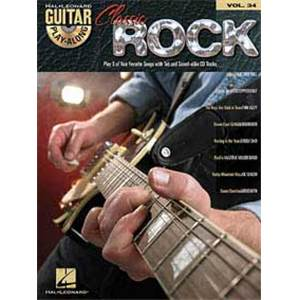 COMPILATION - GUITAR PLAY ALONG VOL.034 CLASSIC ROCK + CD