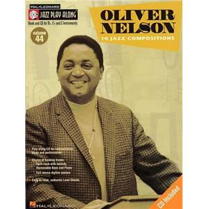 NELSON OLIVER - JAZZ PLAY ALONG VOL.044 + CD