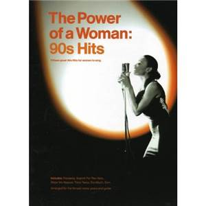 COMPILATION - POWER OF A WOMAN 90S HITS P/V/G