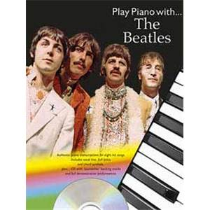BEATLES THE - PLAY PIANO WITH... + CD