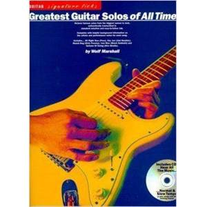 COMPILATION - SIGNATURE LICKS GREATEST SOLO OF ALL TIME GUITAR TAB. + CD ÉPUISÉ