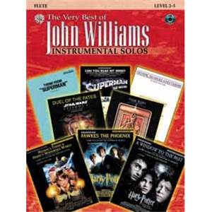 WILLIAMS JOHN - VERY BEST OF FLUTE + CD