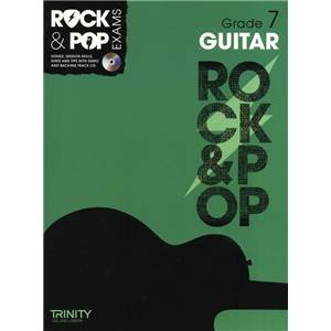 COMPILATION - TRINITY COLLEGE LONDON : ROCK & POP GRADE 7 FOR GUITAR + CD