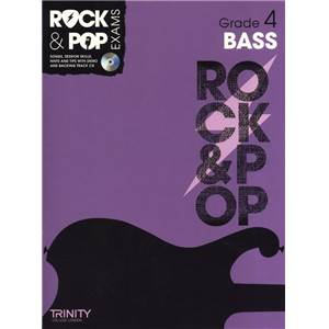 COMPILATION - TRINITY COLLEGE LONDON : ROCK & POP GRADE 4 FOR BASS + CD