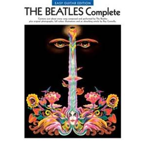 BEATLES THE - COMPLETE GUITAR LIGNES MELODIQUES, PAROLES ET ACCORDS SIMPLES GUITARE Épuisé