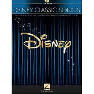 DISNEY - CLASSIC SONGS LOW VOICES P/V/G + CD