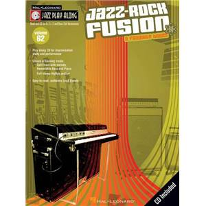 COMPILATION - JAZZ PLAY ALONG VOL.062 JAZZ ROCK FUSION + CD