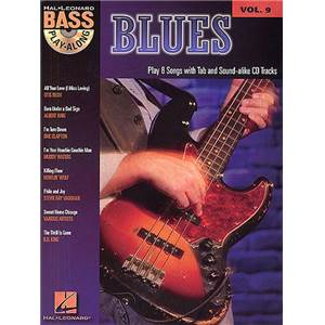 COMPILATION - BASS PLAY-ALONG VOL.09 : BLUES + CD