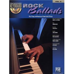 COMPILATION - KEYBOARD PLAY ALONG VOL.6 ROCK BALLAD+ CD