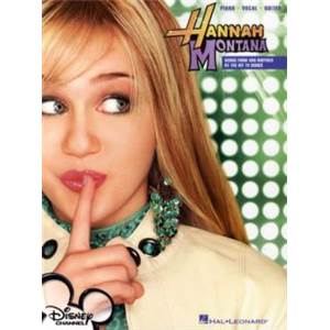 HANNAH MONTANA - SONGS FROM AND INSPIRED BY THE HIT TV SERIES P/V/G