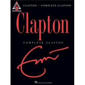 CLAPTON ERIC - COMPLETE CLAPTON GUITAR RECORDED VERSION