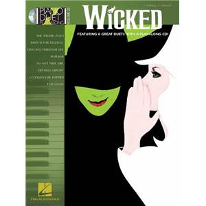COMPILATION - PIANO DUET PLAY ALONG VOL.20 WICKED + CD