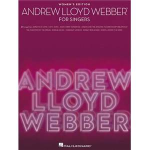 WEBBER ANDREW LLOYD - FOR SINGERS WOMEN'S EDITION P/V/G