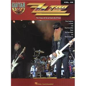 ZZ TOP - GUITAR PLAY ALONG VOL.099 + CD