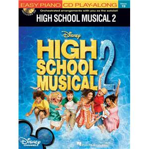 COMPILATION - EASY PIANO CD PLAY ALONG VOL.19 HIGH SCHOOL MUSICAL 2 + CD