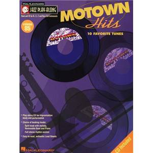 COMPILATION - JAZZ PLAY ALONG VOL.085 MOTOWN HITS + CD