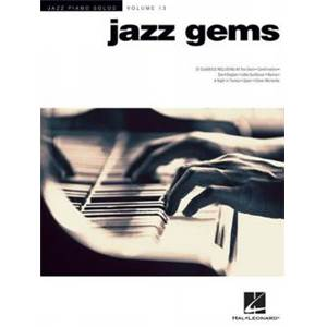 COMPILATION - JAZZ GEMS PIANO SOLO