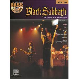BLACK SABBATH - BASS PLAY ALONG VOL.26 + CD