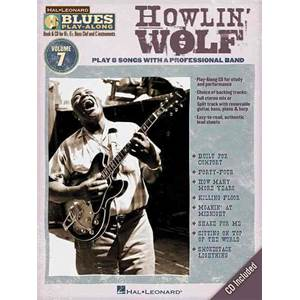 HOWLIN' WOLF - BLUES PLAY ALONG VOL.7 + CD