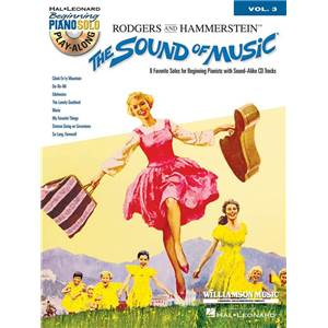 RODGERS / HAMMERSTEIN - BEGINNING PIANO SOLO PLAY ALONG VOL.003 THE SOUND OF MUSIC + CD