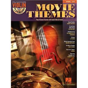 COMPILATION - VIOLIN PLAY ALONG VOL.031 MOVIE THEMES + CD
