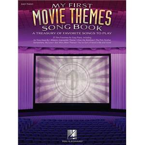 COMPILATION - MY FIRST MOVIE THEMES SONGBOOK EASY PIANO