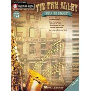 COMPILATION - JAZZ PLAY ALONG VOL.174 TIN PAN ALLEY + CD