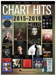 COMPILATION - CHART HITS OF 2015-2016 SONGBOOK P/V/G
