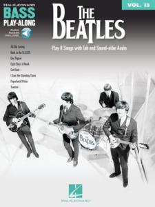 BEATLES - BASS PLAY-ALONG VOL.13 + ONLINE AUDIO ACCESS