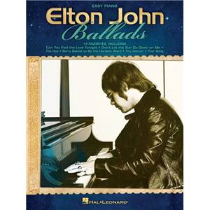 JOHN ELTON - BALLADS FOR EASY PIANO VOCALS