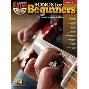 COMPILATION - GUITAR PLAY ALONG VOL.101 SONGS FOR BEGINNERS + CD