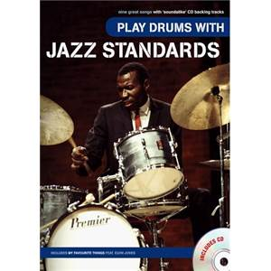COMPILATION - PLAY DRUMS WITH JAZZ STANDARDS + CD