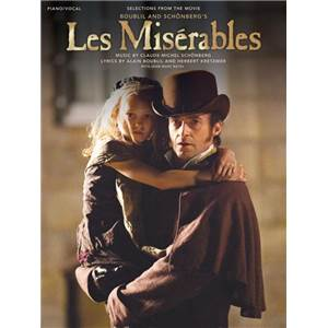 BOUBLIL / SCHONBERG - LES MISERABLES SELECTION FROM THE MOVIE P/V/G