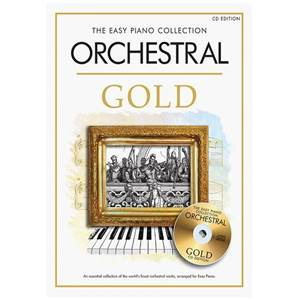 COMPILATION - EASY GOLD ORCHESTRAL ESSENTIAL PIANO COLLECTION + CD