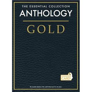 COMPILATION - GOLD ESSENTIAL PIANO COLLECTION ANTHOLOGY + DOWNLOAD CARD