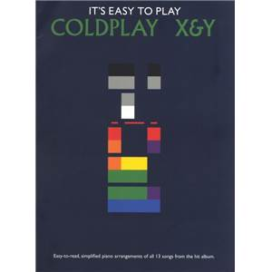 COLDPLAY - IT'S EASY TO PLAY X&Y