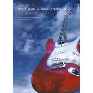 DIRE STRAITS - BEST OF PRIVATE INVESTIGATIONS GUITAR TAB.