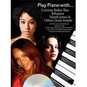 COMPILATION - PLAY PIANO WITH BAILEY RAE, RIHANNA, NORAH JONES...,PVG+ CD